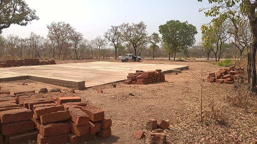 Fundament der neuen Kirche