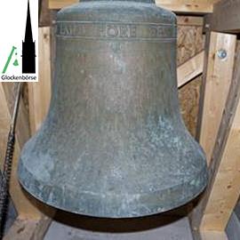 Einzelglocke mit elektrischer Glockenanlage und Glockenstuhl zum Verkauf