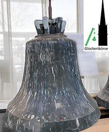 Einzelglocke aus Bronze mit 584 kg zum Verkauf